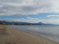 Playa de Muchavista, El Campello. Alicante
