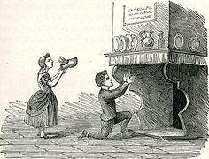 Illustratie uit : De volksvermaken, Jan ter Gouw, Erven F. Bohn, Haarlem 1871