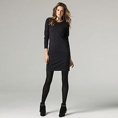 Fitted Knitted Dress | The White Company