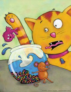 WEB-cat-mouse-fish