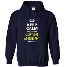 keep calm and let the COSTUME ATTENDANT handle it - #shirt ideas #rock tee. OBTAIN LOWEST PRICE => https://www.sunfrog.com/LifeStyle/-keep-calm-and-let-the-COSTUME-ATTENDANT-handle-it-7757-NavyBlue-19612176-Hoodie.html?68278