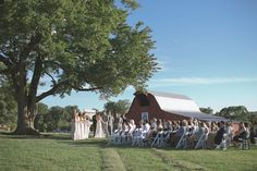 Loving this sweet ceremony at Lilac Farms at Arrington! Click the image link to give them a call today. Image credit: Kaitie Bryant Photography.