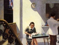 Il negozio di barbiere -1931 - Edward Hopper