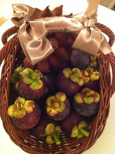 Mangosteen #thai #exotic #fruit