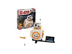 LEGO Star Wars VIII BB-8 75187 Building Kit (1106 Piece) for $58.33 at Amazon Amazon Lego, Lego War, Lego Star Wars, Bb, Stars, Building, Buildings, Sterne, Construction