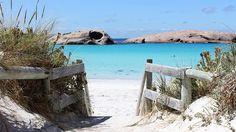 A magnificent day at Twilight Beach, Esperance, Western Australia. (Image: Rebecca Brewin/ABC News)