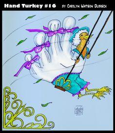 Swinging turkey