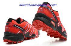 the latest e584a f3ec9 Adidas Salomon Mens Sneaker Varsity Red Black