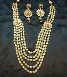 Buy designer wedding set with earrings necklace-set online