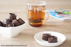"""Koolhydraatarme, suikervrije bonbons uit """"de keuken van Martine""""  GOK groen"""