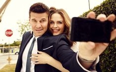 Emily Deschanel, David Boreanaz, Female Actresses, Actors & Actresses, Booth And Bones, You Are My Home, Bones Tv Show, Tv Couples, 28 Years Old