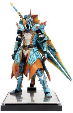 figurine-monster-hunter-3g-3ds-action-figure-capcom (3) Monster Hunter Cosplay, Monster Hunter Series, Monster Hunter Art, Imprimente 3d, Character Art, Character Design, My Fantasy World, Medieval Armor, Fantasy Armor