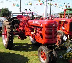 Farmall tractor at Georgia National Fair in Perry GA 2005.