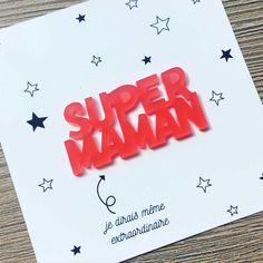 Super Maman, pin's pour la fête des mères, badge, broche, Maman, accessoire, cadeau de naissance par OnTheOtherFish sur Etsy https://www.etsy.com/fr/listing/278221870/super-maman-pins-pour-la-fete-des-meres