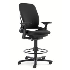 Tall Office Chairs With Wheels High Chair Desk Stool