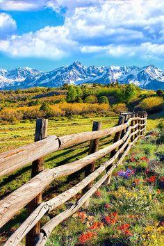 Springtime In The Rockies (Dallas Divide, near Telluride, Colorado) by Rick Wicker