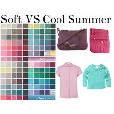 I often wonder if my color choices are too muted, going into Soft Summer. Helpful to see the two palettes side by side.