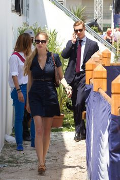 Beatrice Borromeo Photos - Pierre Casiraghi and Beatrice Borromeo attend the '31st International Cannes Jumping' - Global Champion Tour 2012 on June 14, 2012 in Cannes, France. - Global Champion Tour 2011 In Cannes - Day 1