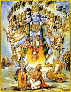 Lord Vishnu is one of the principal deities forming the Hindu trinity & also the Supreme Being in Vaishnavism. Here is a collection of Lord Vishnu Images. Hare Krishna, Krishna Radha, Hanuman, Durga, Lord Vishnu, Deus Vishnu, Lord Krishna Images, Krishna Pictures, Bhagavad Gita