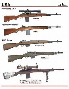 США: Armscorp M-14 NM, Federal Ordnance M14A, ...