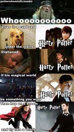 Harry Potter turned into Spongebob