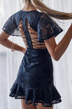 Shop our collection of Dresses at JAUS, Australian clothing labels in Michigan USA. White Lace Skirt, Lace Dress Black, Australian Clothing, Mauve Dress, Lace Sleeves, Couture, Pretty Outfits, Tie Dye Skirt, Formal Dresses