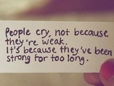People Cry Best Quotes Of All Time