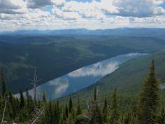 Bowman Lake,Montana-USA