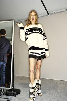 Isabel Marant AW14-15 Fashion Show Paris Backstage