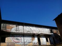 Senza Titolo, BLU, 2006, cortile interno di Fabbrica Borroni, Bollate.