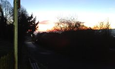 Horizont in Flammen am 10.12. 16 um 7.44