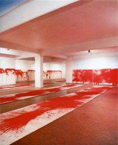 Hermann Nitsch, Installation view 1984 Photo: via artribune.com