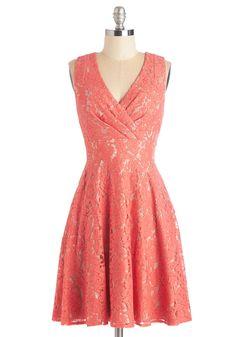 Labyrinthine Lace Dress, #ModCloth