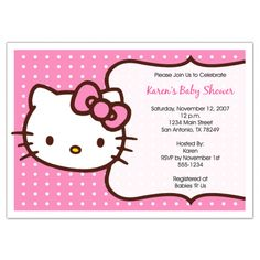 Take a look at our collection video and picture of baby shower invitation…