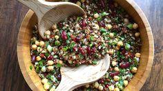Tahıllı Kinoa Salatası