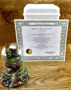 Harvest Hill Cottage Dome Violet Schweing Franklin Mint Hand Painted Ornaments in Collectables, Decorative Ornaments & Plates, Franklin Mint Hand Painted Ornaments, Franklin Mint, Harvest, Decorative Boxes, Cottage, Frame, Artwork, Shop, Ebay