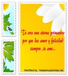 palabras y tarjetas de amor para mi novio, originales mensajes de romànticos para mi novio con imágenes gratis: http://www.frasesmuybonitas.net/estupendas-frases-romanticas-de-primavera/