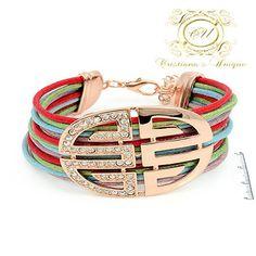 Bracelet Color - Pulceira Colorida – Cristiana's Unique