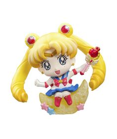 Sailor Moon Petit Chara Land Pretty Soldier Trading Figure 6 cm Megahouse