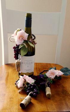 Bridal Shower Favors Wine Theme decoration Wedding by AmoreBride