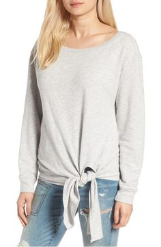 Hinge - Tie Front Pullover