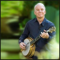 Steve Martin- Amazing banjo player and bluegrass music ambassador Steve Martin Banjo, Kinds Of Music, My Music, Ghost Light, Light Film, Bluegrass Music, Country Music Stars, Country Singers, Jazz Guitar