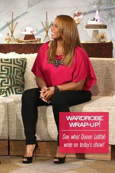 Queen Latifah's Wardrobe Wrap-up
