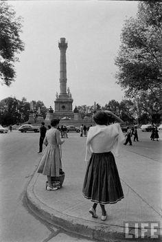Terremoto del Ángel /México.D.F / 1957 ocurrido a las 02:44 hora local del domingo 28 de julio.