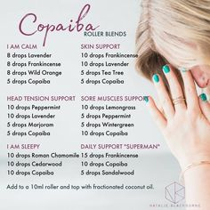 Strategies to guide you Maximize Your own being familiar with of doterra oils Copaiba Essential Oil, Essential Oil Diffuser Blends, Doterra Essential Oils, Doterra Blends, Copaiba Oil Uses, Essential Oils For Inflammation, Essential Oils For Headaches, Roller Bottle Recipes, Aromatherapy Oils
