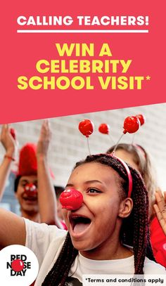 In the lead up to Red Nose Day on the 24th March, we'd like teachers to pin their fundraising ideas to Pinterest as part of a Teacher Fundraising contest. The prize? A visit to your school from a mystery celebrity! - pink white dress, light pink summer dresses, floral dresses juniors *ad