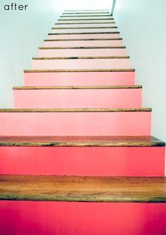 Escalier peint -16 Idées peinture escalier   BricoBistro