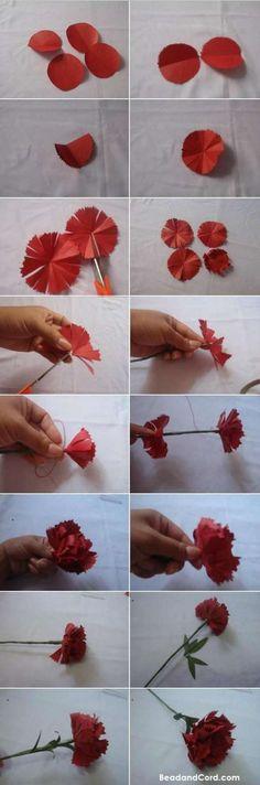 16 Tutos faciles pour fabriquer de magnifiques fleurs en papier - Guide Astuces