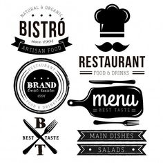 Are you looking for restaurant logo vectors or photos? We have 2227 free resources for you. Download on Freepik your photos, PSD, icons or vectors of restaurant logo