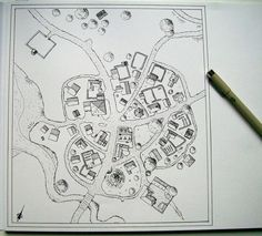 Small village map by Brian-van-Hunsel on DeviantArt